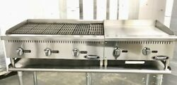 36andrdquo Char Broiler 2andrsquo Grill Flat Griddle Package New Char Gill 60andrdquo