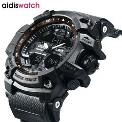 Aidis Sport Watches Waterproof Digital Military Watch Led Menand039s Wristwatch