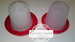 Water Dispenser Food Chicken Trough Poultry Drinker Potions Bell
