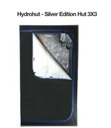 Hydro Hut Grow Tent Silver Edition Hydroponic Grow Tent And Complete Grow Bundle
