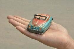 Vintage Small N 3456 Fine Litho Car Tin Toy,collectible