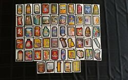 2004 Wacky Packages Ans1 Complete Set Of 55 Stickers