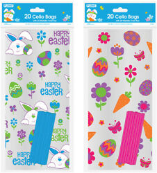 Easter Cello Bags - 20 Count - CASE OF 96