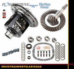 Limited Slip Posi Gm Chevy 7.6 Grip Ls 3.42 Gear Set Master Bearing Kit Package