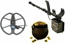 Detech Relic Striker Professional Metal And Gold Detector With 13 Ultimate Coil