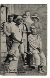 + The Garrote Postcard From Early 20th Century
