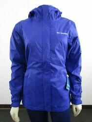 Nwt Womens Columbia Timber Pointe Packable Waterproof Rain Shell Jacket Dynasty