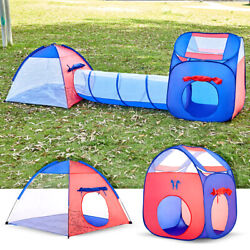 600 Units Los Stock Of Unicorn Kids Play Tent with Tunnel - 3-in-1