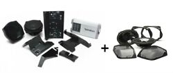 Rockford Hd9813rg-tkit + Tms69bl9813 Harley Road Glide Front And Rear Audio Kit