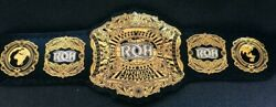 Ring Of Honor Roh Heavyweight Wrestling Championship Belt Replica Adult