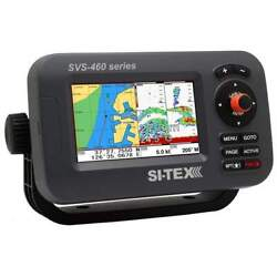 Si-tex 4 Chartplotter System With External Gps And Navionics+ Svs-460ce
