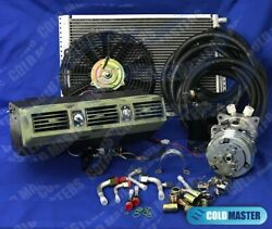 New A/c Kit Universal Underdash Evaporator 404 1mil And Electric Harness