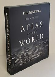 2012 The Times Universal Atlas Of The World Representing The Earth With Autho..