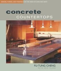 Concrete Countertops Design, Forms, And Finishes For The New Kitchen And Bat…