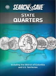 Whitman Search And Save State Quarters Including The D.c And Us Territories New