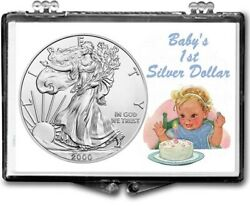 Lot Of Five, Baby's First Silver Dollar, American Silver Eagle Gift Displays