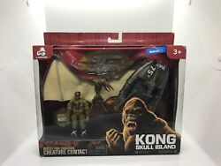 NEW KING KONG SKULL ISLAND CREATURE CONTACT SURVIVAL ACTION FIGURE PTERODACTYL