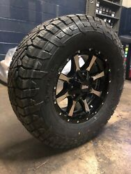 17x9 Moto Metal Mo970 33 Fuel At Wheel And Tire Package 8x6.5 Dodge Ram 2500 3500
