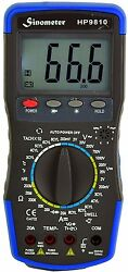 Sinometer Hp9810 Automotive Digital Multimeter With Thermometer