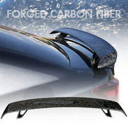 Universal Fitment Trunk Spoiler Deck Wing Forged Carbon Fiber