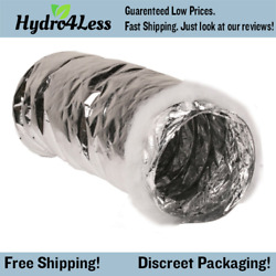 Hydrofarm Active Air ACDC825IN Insulated Air Ducting 8 Inch x 25 Feet