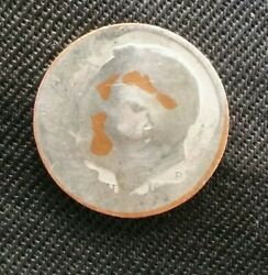United States Currency Coin 💰dime With Defect Faded Face Pennsylvania