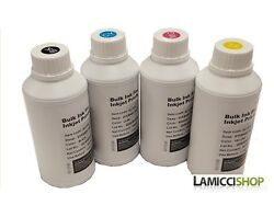 4 Color X 500 Ml Refill Dye Ink Fits For Epson 702 Xl T702 Workforce Pro Wf-3720