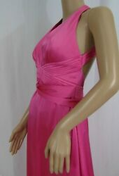 Bcbg Max Azria Pink Evening Dress Formal Prom Dress Size 4 $18.19