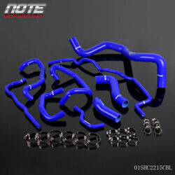 Silicone Radiator Coolant Hose Kit Fit For Volkswagen Golf Mk4 1.8t Turbo 99-06