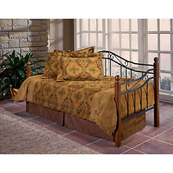 Day Bed Sofa Bed Furniture Metal Frame Guest Room Lounge Traditional Scroll Work