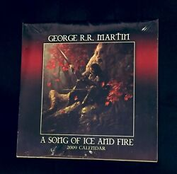 Asoiaf 2009 Calendar Exclusive A Song Of Ice And Fire - Game Of Thrones Rare