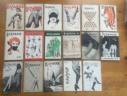 Bizarre Vintage Magazine Near Set Vintage 17 Of 23 Issues Includes Bettie Page