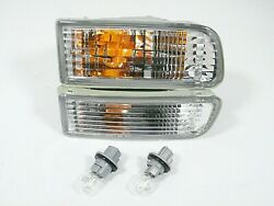 Fits 99-02 Toyota 4runner Turn Signal Light Lamp Pair L And R With Bulbs Included