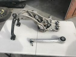 TESLA MODEL S LH DRIVERS FRONT SUSPENSION CONTROL ARMSSPINDLEAWD DUAL MOTOR