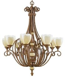 Kichler Lighting Large Chandelier Light Fixture Hall Foyer Dining Room Kitchen