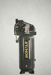 New 5hp Schulz V And W Air Compressor Two Stage Elec 1 Ph 230 Vlt 580vv20x-1