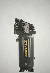 New 5hp Schulz V And W Air Compressor Two Stage Elec 3 Ph 230 Vlt 580vv20x-3