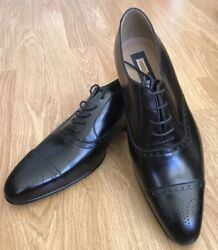 Zilli Men's Dress Shoes,43 Size, Authentic,black, Made In Italy