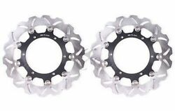 Front Brake Disc Rotor For Yamaha YZF R6 99-02 R1 98-03 VMX12 93-07 FJR XJR 1300