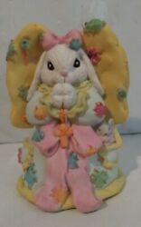 The Patchville Bunnies, Daddy's Little Angel, Nice Easter Decoration Or Gift