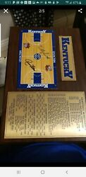University Of Kentucky Basketball Autographed One Of A Kind Collectorand039s Item