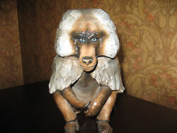 Rosenthal Baboon Extremely Rare In Pristine Condition Antique Collectible