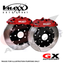 Vmaxx Big Brake Kit 306 Cabrio All Fwd Models 03.94-04.02 290mm W/ Brakeline