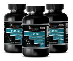 Provide Top Quality Protein - L-LYSINE 500mg - Sport Supplements -3 Bot 300 Tabs
