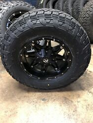 17x9 Fuel D531 Hostage At Wheel And Tire Package 5x5 5x4.5 Jeep Wrangler Jk Tpms