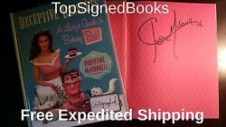 Signed Deceptive Desserts A Ladys Guide To Baking Bad By Christine Mcconnell
