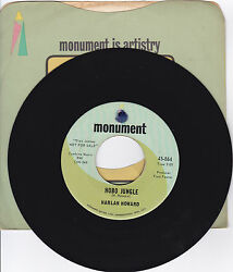 Harlan Howard-monument 864 And 919 Promos 2 Country 45'hobo Jungle-another Bridge