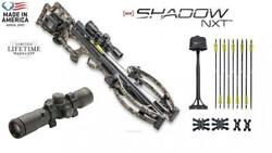 TenPoint Shadow NXT Crossbow w/ACUdraw Crank and Rangemaster Scope NEW!!!