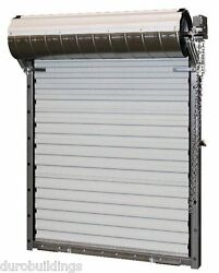 Durosteel Janus 16and039wx10h Heavy Duty 3652 Series Fl Wind Rated Rollup Door Direct