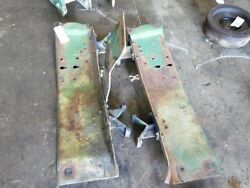 John Deere Mc Crawler Tractor Pair Of Main Frame Supports Tag 060